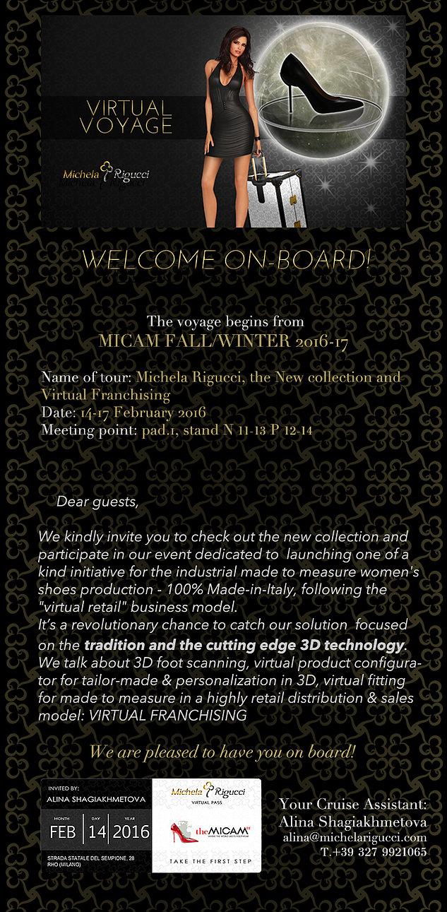 Michela Rigucci- INVITE x MICAM 2016