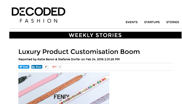Luxury Product Customisation Boom- Oh Mamma Mia