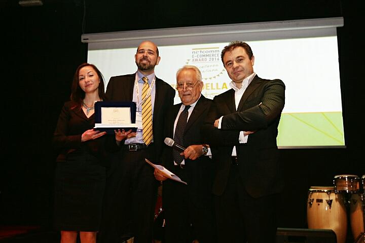 Andrey Golub, Alina Shagiakhmetova- netcomm ecommerce award 2016
