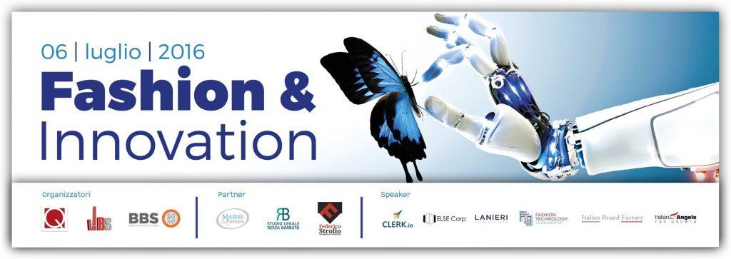 Fashion & Innovation 6 luglio @BBS