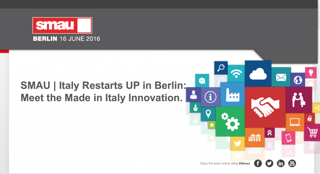 SMAU BERLIN- Meet the Made in Italy Innovation