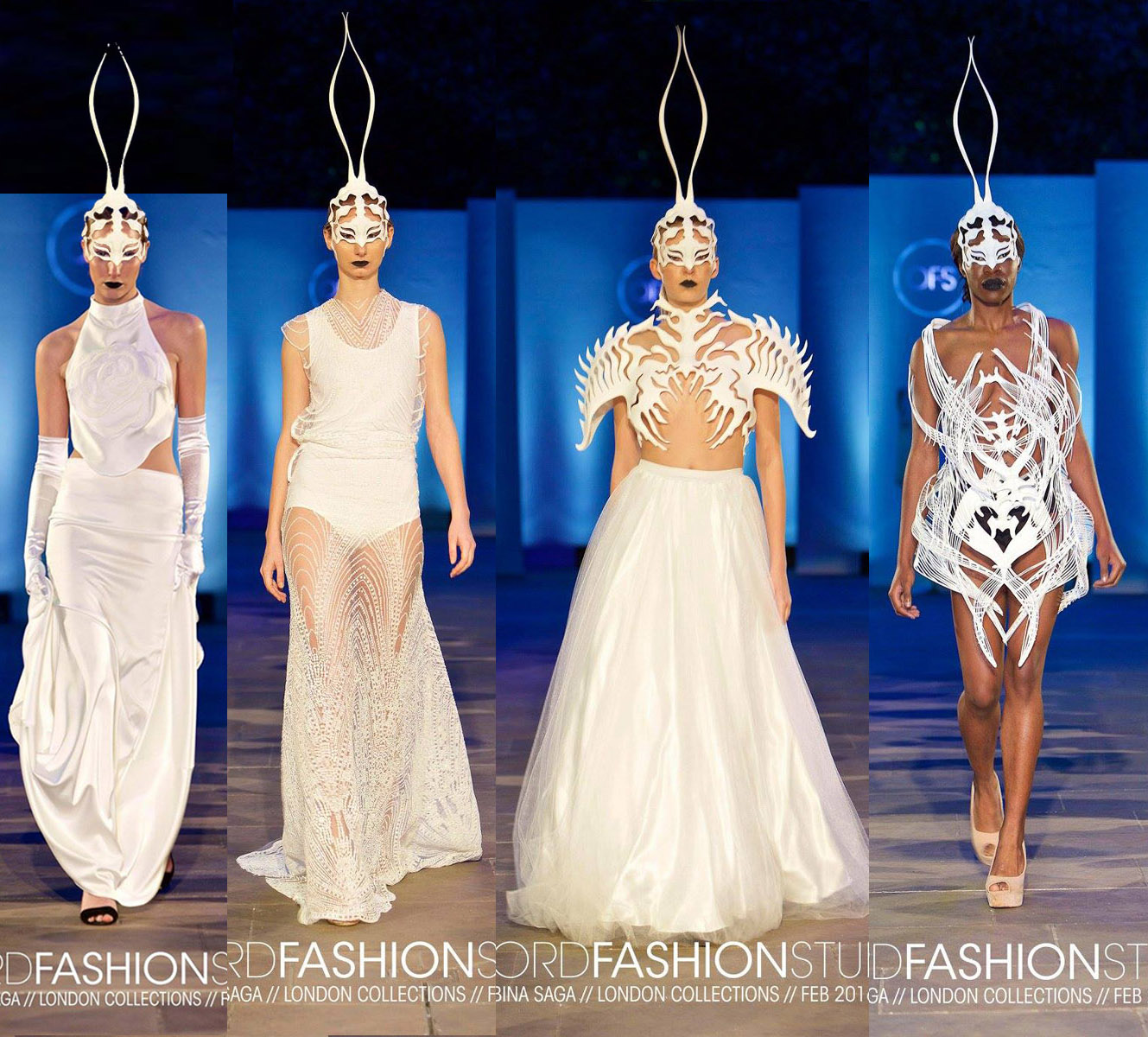 A Modern View Of Fashion And Technology 3d Printed Bridal Collection By Sabina Saga At Technology Hub Else Research By Else Corp
