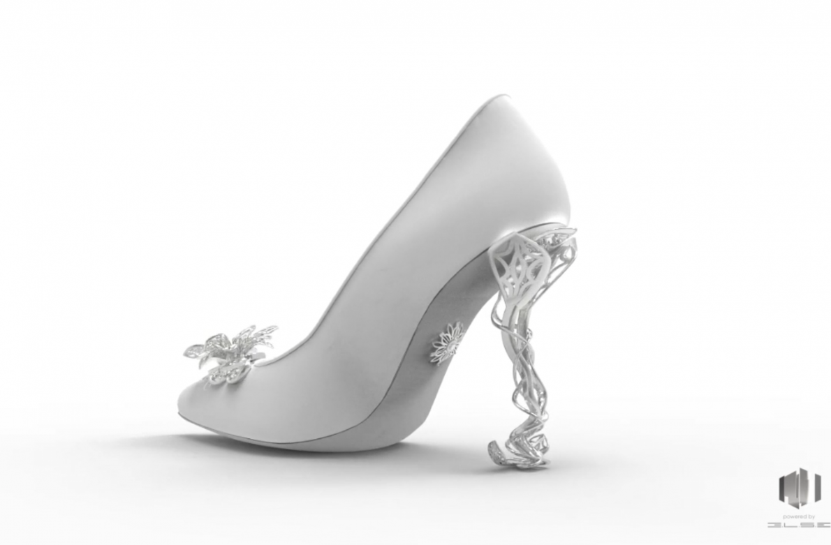 Virtual 3D Shoe by Michela Rigucci