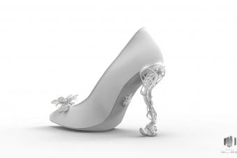 Virtual 3D Shoe by Michela Rigucci