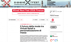 Wired Next Fest 2016 Firenze