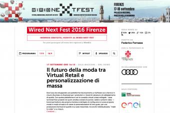 Wired Next Fest 2016 Firenze