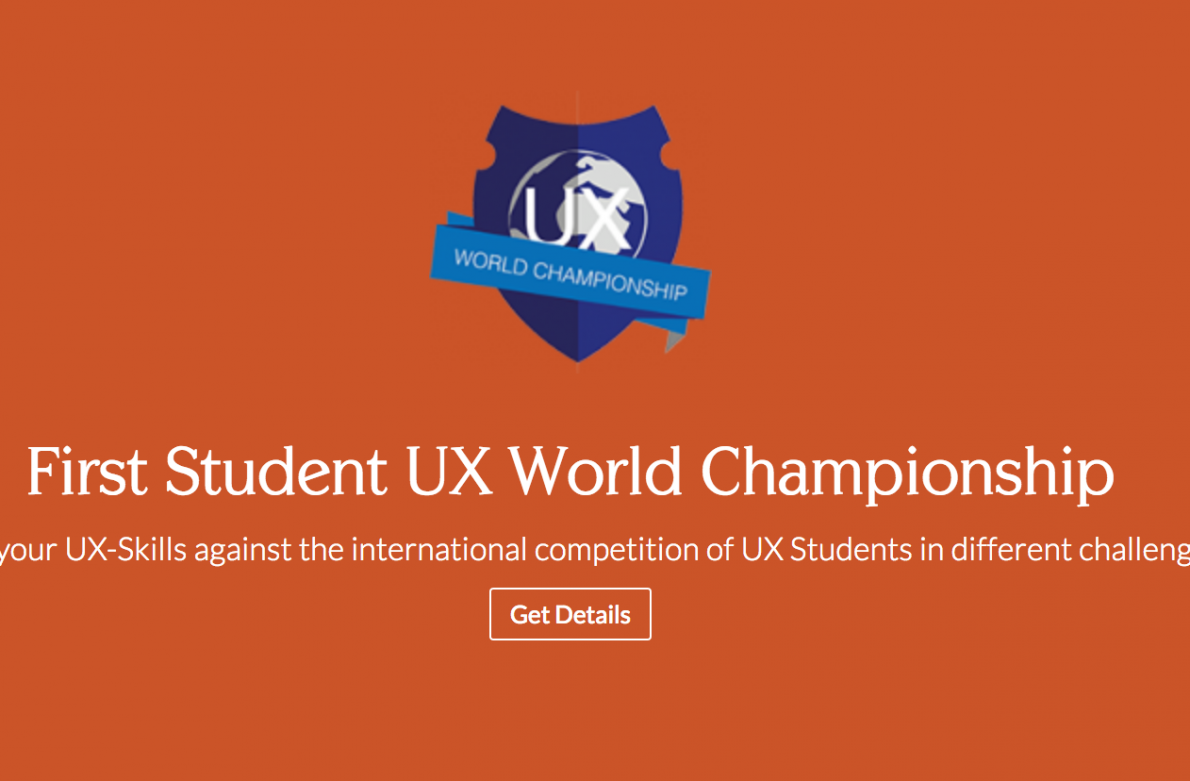 First Student UX World Championship
