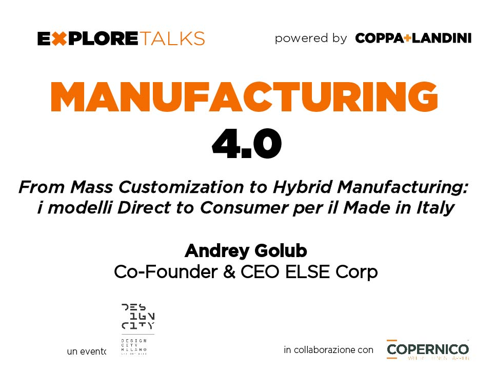 Manufacturing 4.0 Else Corp