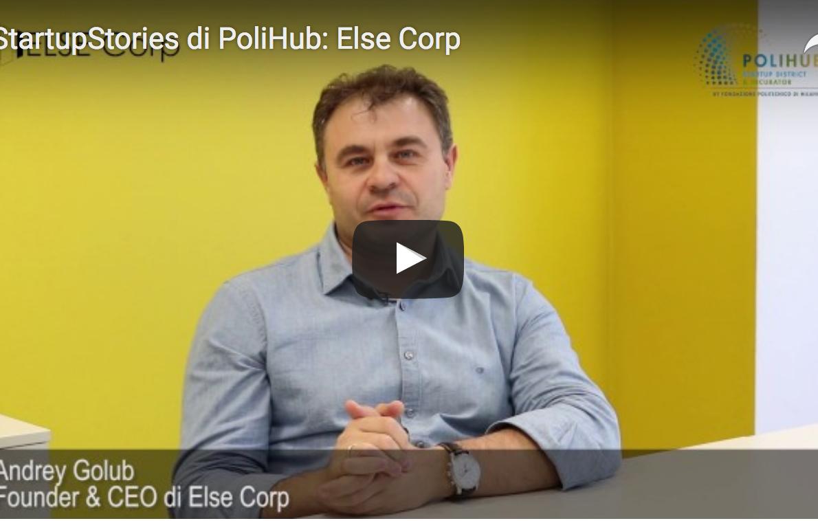 StartupStories di PoliHub- ELSE Corp