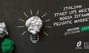 Italian Startups Meet Borsa Istanbul Private Market