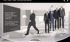 VR-AR-MR Virtual Runway