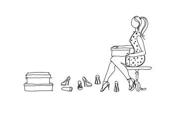 Metodo e sistema di modifica di forme per scarpa basati sull'applicazione di toppe addizionali