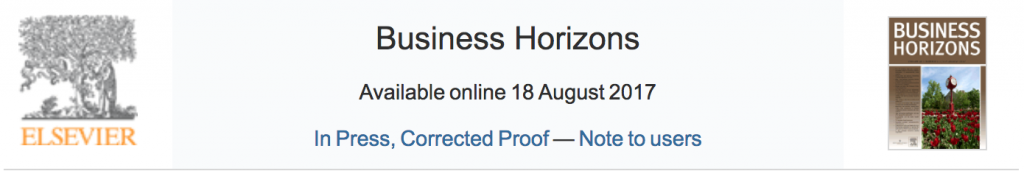 Business Horizons