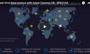 Real time data-science with Azure Cosmos DB