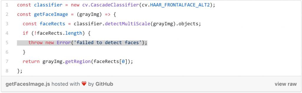 Using Node js + OpenCV for Face Recognition- Medium – ELSE Research