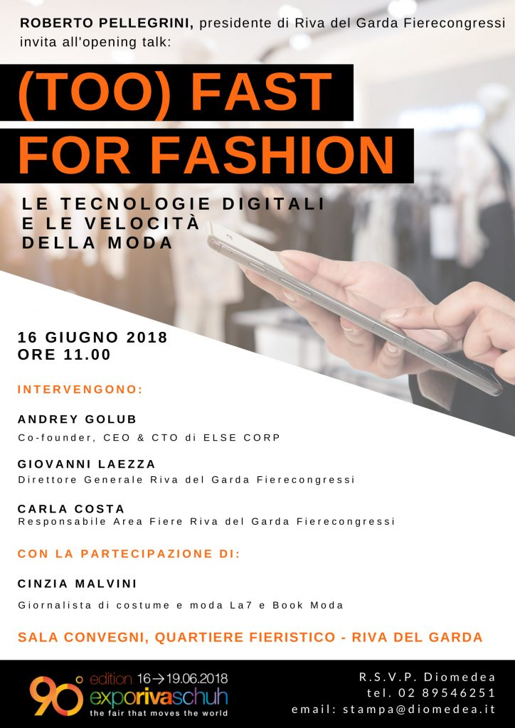 FASHION AT A TIME OF DIGITAL REVOLUTION: THE EXPO RIVA SCHUH DEBATE