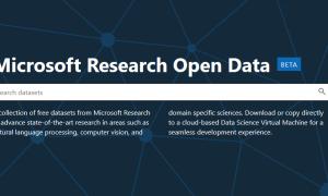 Microsoft Research Open Data