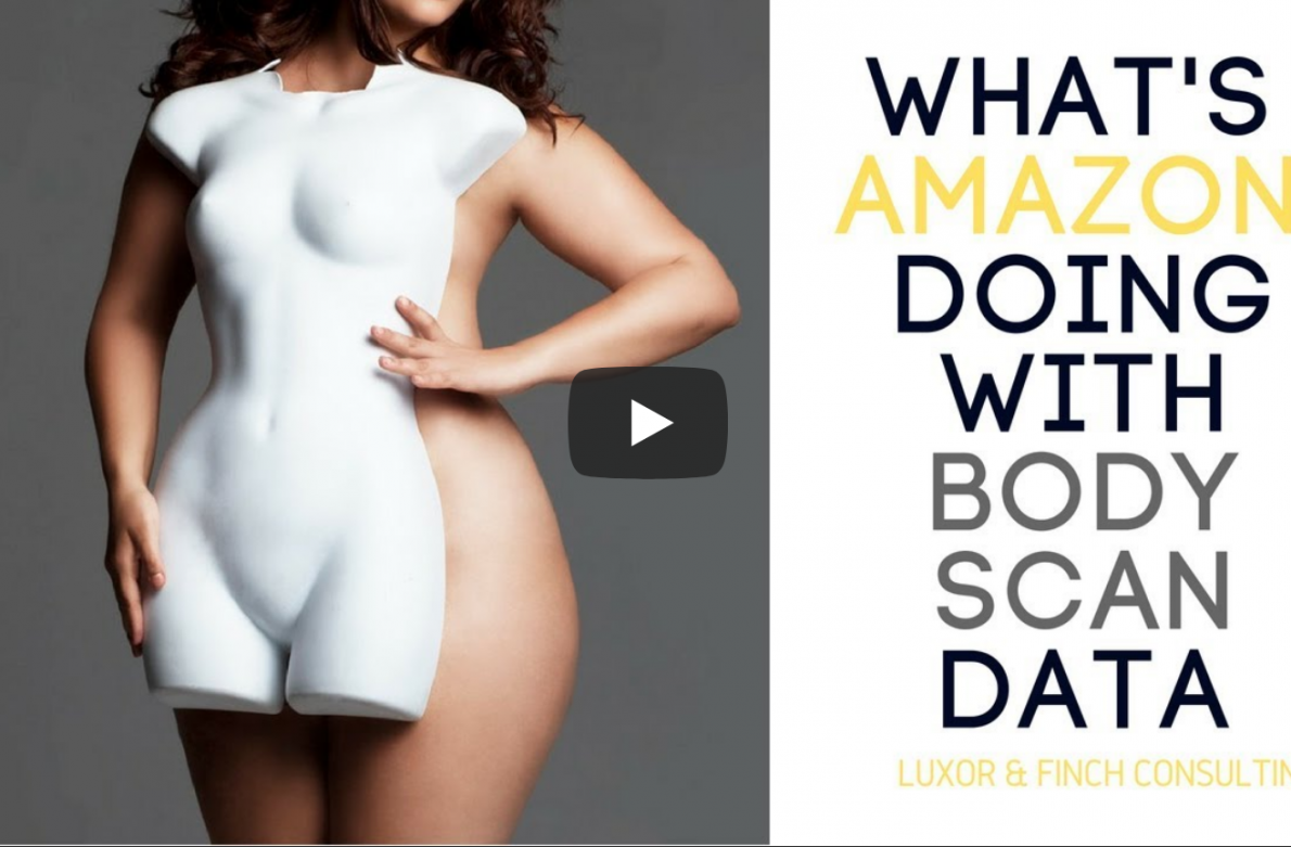 What is Amazon gonna do with their body scan data?