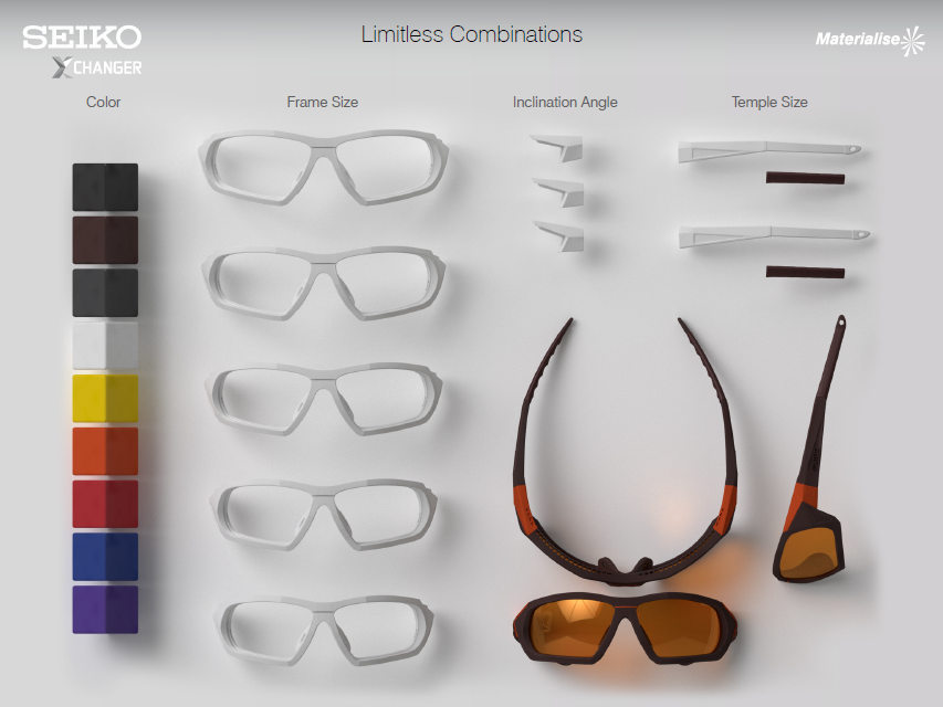 Materialise and BASF Future Leaders in Customized 3D Printed Eyewear
