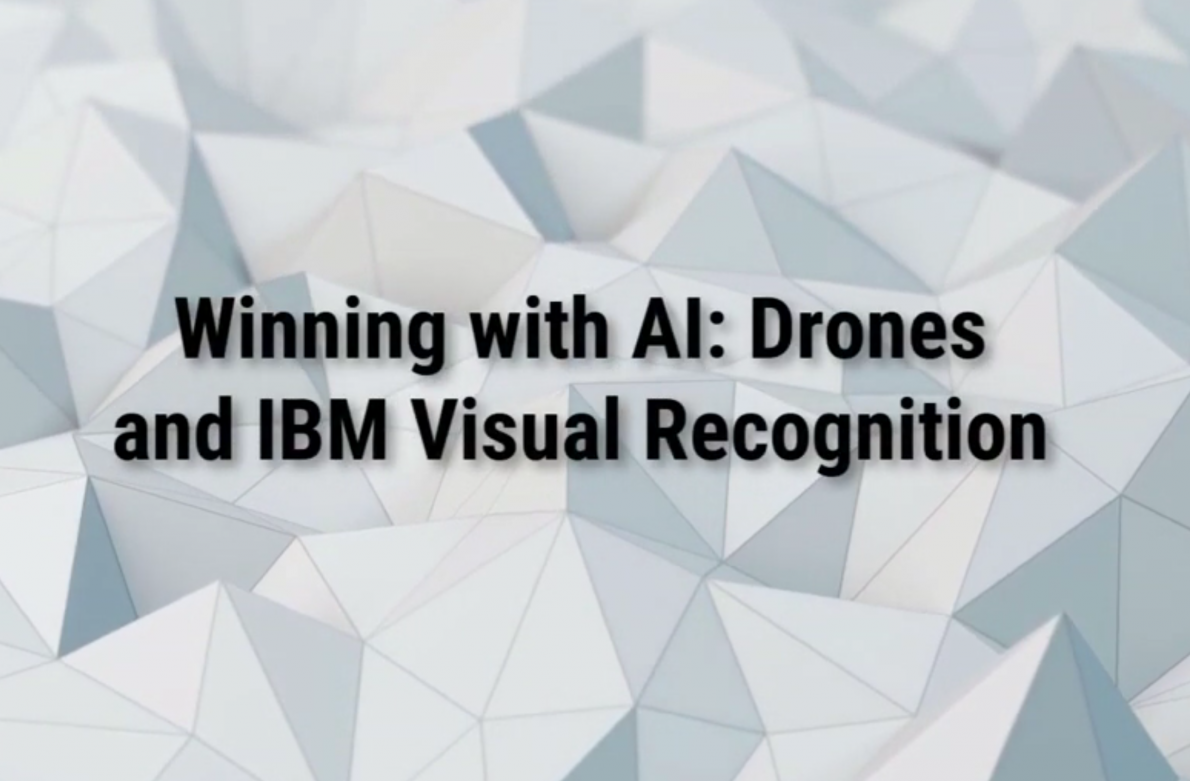 Drones and IBM Watson Visual Recognition