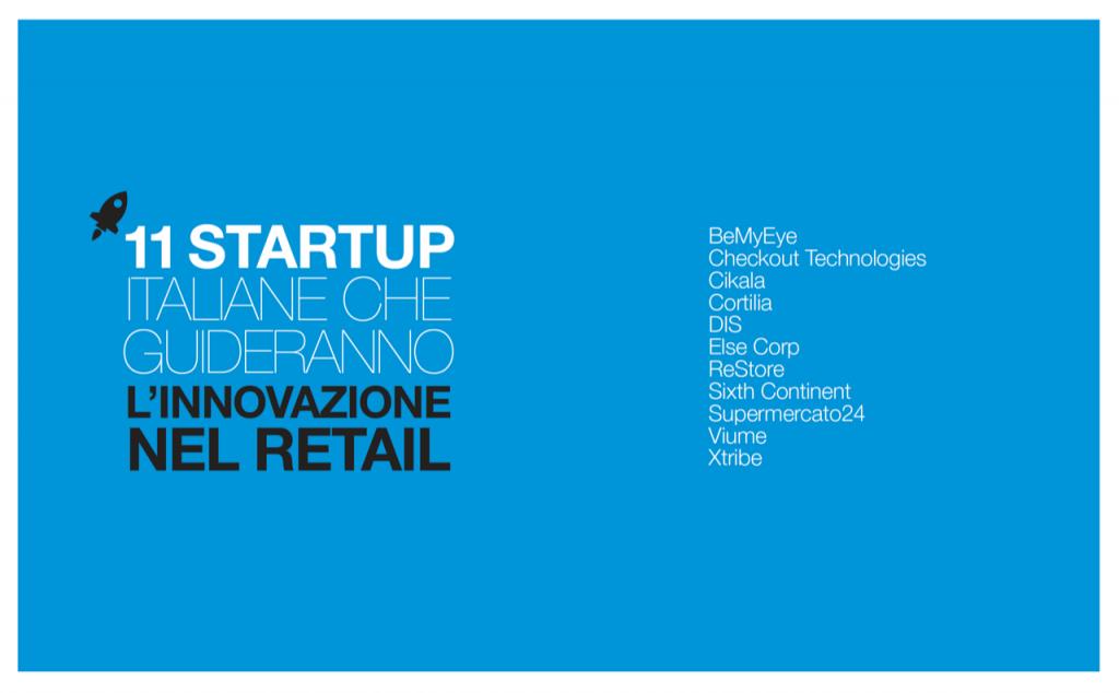 11 Startup Italiane che guideranno l'innovazione nel Retail