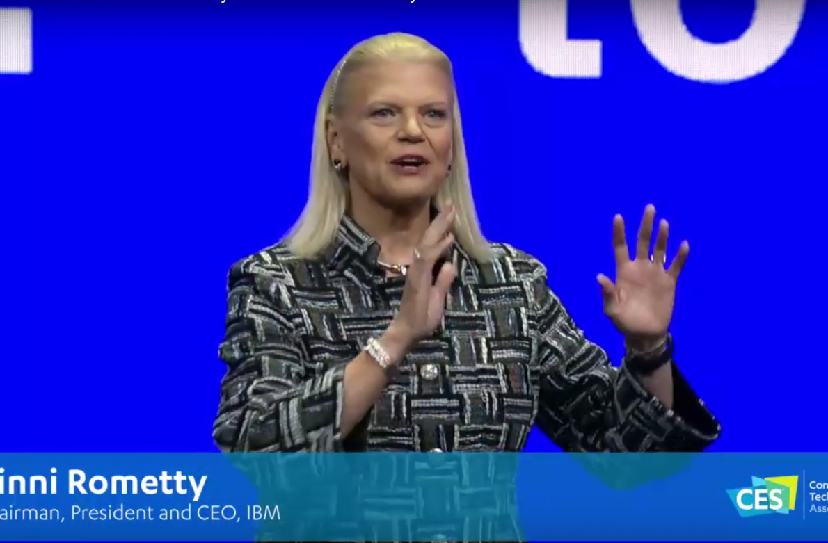IBM Keynote at CES What is Next