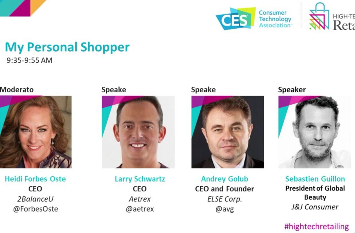 My Personal Shopper panel at CES 2019