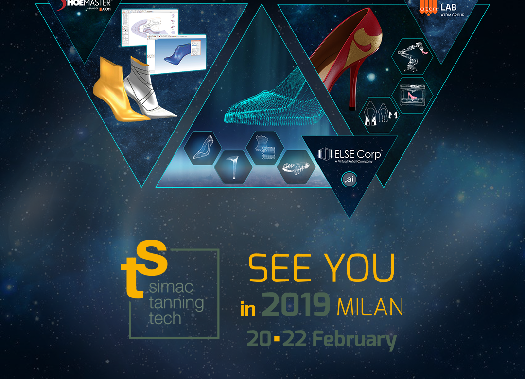 ELSE CORP, SHOEMASTER & ATOM LAB AT SIMAC TANNING TECH 2019